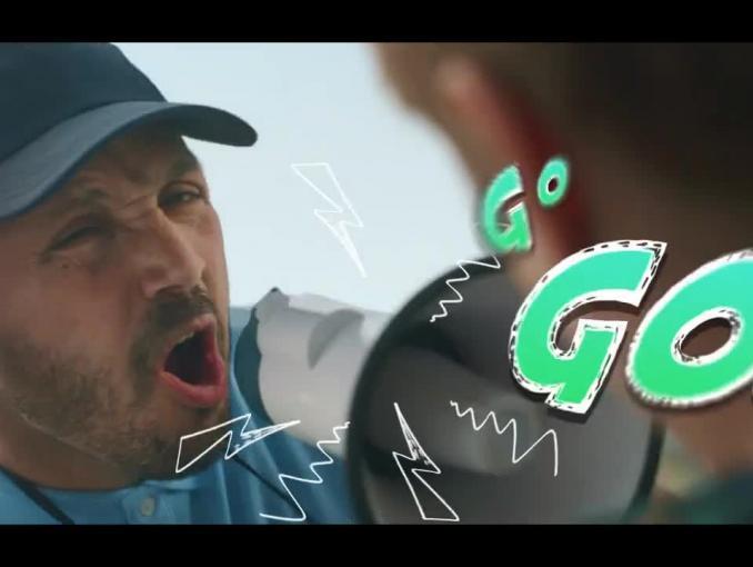 Reklama batonu Lion 2GO